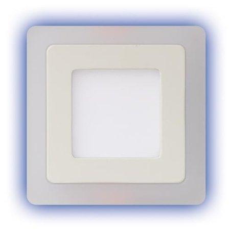Alina LED D 3+6W 4000K svítidlo led s modrým prstenem Struhm