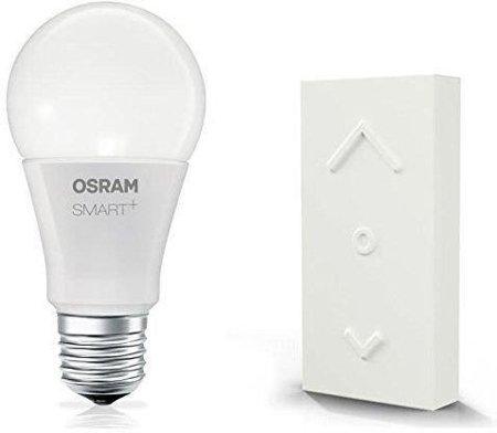 Bbezdrátový stmívač a žárovkaLED 8,5W E27 SMART+ DIMMING SWITCH MINI KIT OSRAM