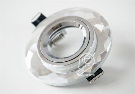 Hanna C Chrome, halogenové sklo křišťálová kulatá Struhm