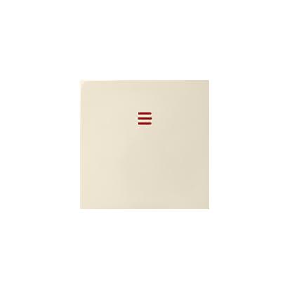 Jednotná klávesa do podsvícení, béžová Kontakt Simon 82 82011-31