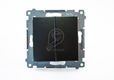 Kontakt Simon 54 Premium Antracit Přepínač sériový (modul) rychlospojka, DW5.01/48