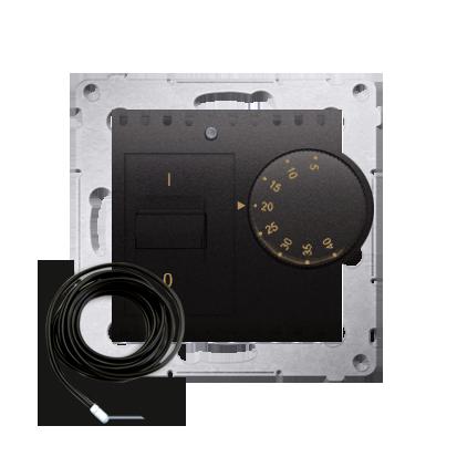 Kontakt Simon 54 Premium Antracit Regulátor teploty s vnějším senzorem (modul) DRT10Z.02/48