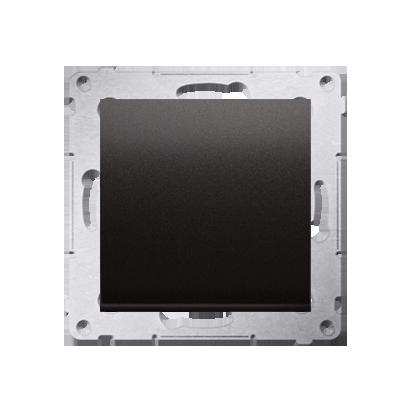 Kontakt Simon 54 Premium Antracit Tlačítko jednopólové zkratovací bez piktogramu X šroubové koncovky, DP1A.01/48