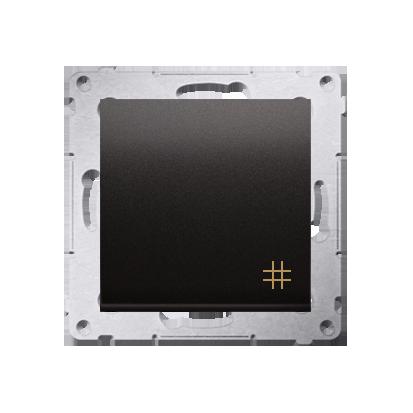 Kontakt Simon 54 Premium Antracit Vypínač křížový (modul) rychlospojka, DW7.01/48