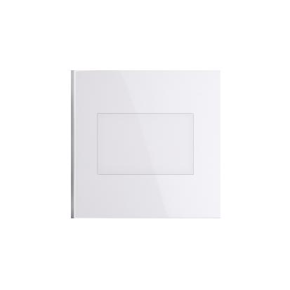 Kontakt Simon 54 Premium Bílý Clona rámečku bez můstku - upevnění pouze na západku DP/11