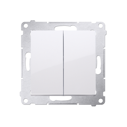 Kontakt Simon 54 Premium Bílý Přepínač sériový pro verzi IP44 DW5B.01/11