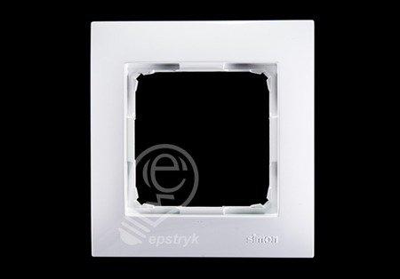 Kontakt Simon 54 Premium Bílý Rámeček 1-násobný univerzální IP20/IP44, DR1/11