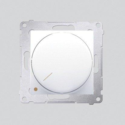 Kontakt Simon 54 Premium Bílý Stmívač otočný dvoupólový do stmívatelných LED DS9L2.01/11