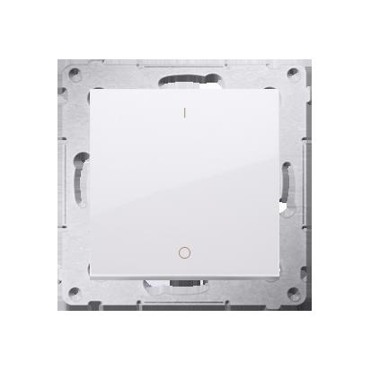 Kontakt Simon 54 Premium Bílý Vypínač dvoupólový X šroubové koncovky, DW2A.01/11
