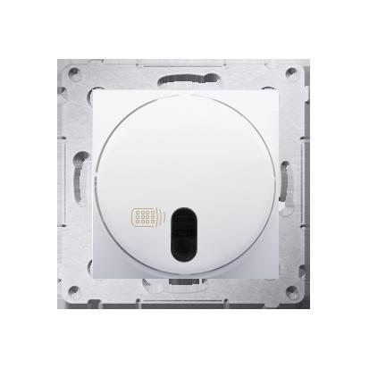 Kontakt Simon 54 Premium Bílý stmívač tlačítkový a dálkově ovládaný (modul) 20–500 W, DS13T.01/11