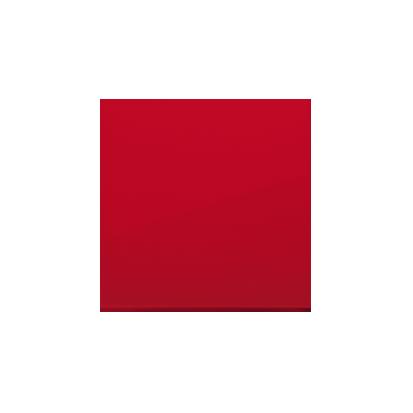 Kontakt Simon 54 Premium Červená Jednotná klávesa pro vypínače/Tlačítek, DKW1/22
