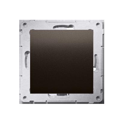 Kontakt Simon 54 Premium Hnědá, matný Clona rámečku (modul). pomocí drápků nebo šroubů, DPS.01/46