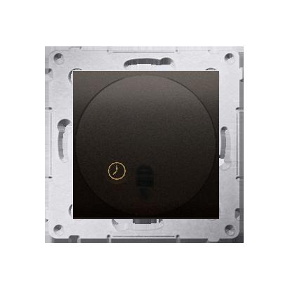 Kontakt Simon 54 Premium Hnědá, matný Spínač s opožděným vypnutím (modul) 20-500 W, DWC10T.01/46