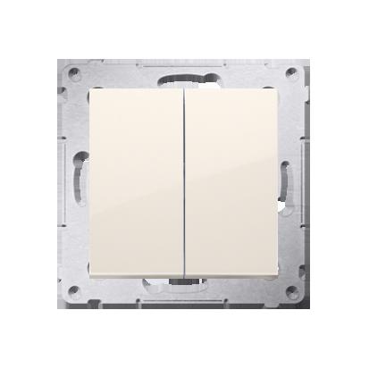 Kontakt Simon 54 Premium Krémová Přepínač sériový (modul) X šroubové koncovky, DW5A.01/41