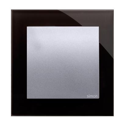Kontakt Simon 54 Premium Lunární láva - sklo Rámeček 1-násobný Nature DRN1/74