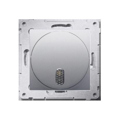 Kontakt Simon 54 Premium Stříbrná Elektronický zvonek (modul) DDS1.01/43