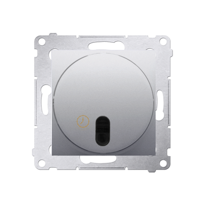 Kontakt Simon 54 Premium Stříbrná Spínač s opožděným vypnutím (modul) 20-500 W, DWC10T.01/43