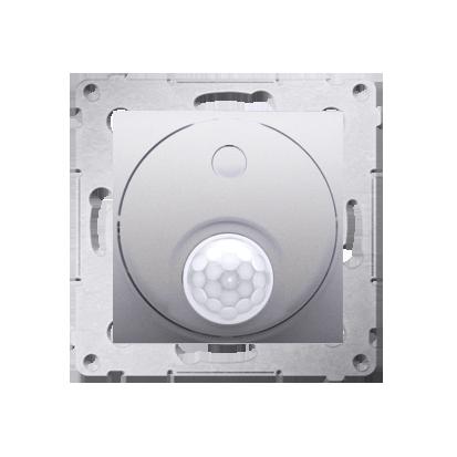Kontakt Simon 54 Premium Stříbrná Vypínač se senzorem pohybu s relé se zabezpečením (modul) DCR11P.01/43