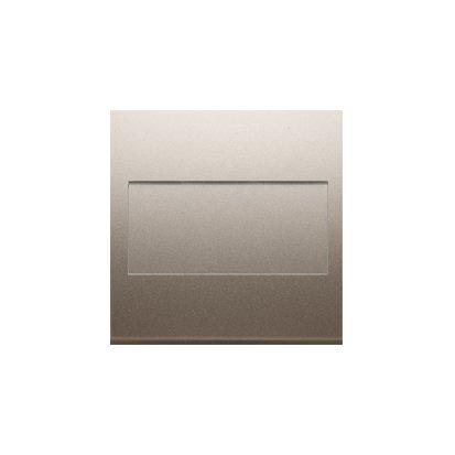 Kontakt Simon 54 Premium Zlatá Clona rámečku bez můstku - upevnění pouze na západku DP/44