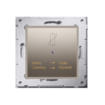 Kontakt Simon 54 Premium Zlatá Protipřepěťové ochranné zařízení (modul), D75420.01/44