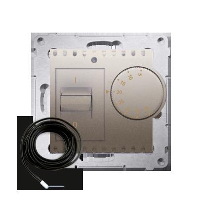 Kontakt Simon 54 Premium Zlatá Regulátor teploty s vnějším senzorem (modul) DRT10Z.02/44