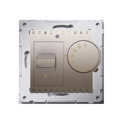 Kontakt Simon 54 Premium Zlatá Regulátor teploty s vnitřním senzorem (modul) DRT10W.02/44