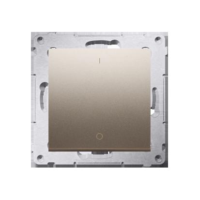 Kontakt Simon 54 Premium Zlatá Vypínač dvoupólový X šroubové koncovky, DW2A.01/44