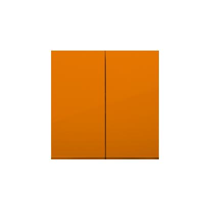 Kontakt Simon 54 Premium oranžová Klávesy pro vypínače/Tlačítek dvojnásobných, DKW5/32