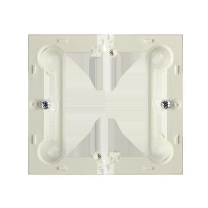 Krabice nástěnná hnebooká (40mm) skládaná, béžová Kontakt Simon PSC/12