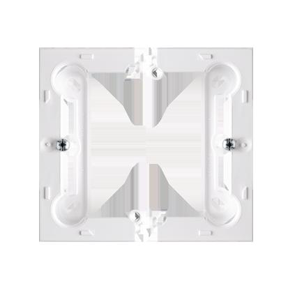 Krabice nástěnná hnebooká (40mm) skládaná, bílý Kontakt Simon PSC/11