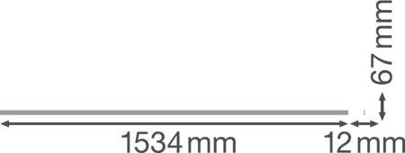 Kryt pro lišty v systému TruSys BLIND COVER LEDVANCE
