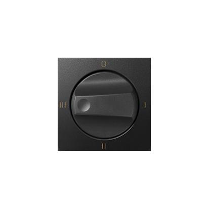 Kryt vypínače otočného (4 grafit Kontakt Simon 82 82079-38