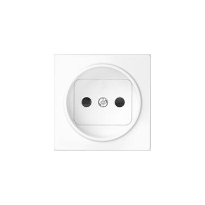 Kryt zásuvky s uzemněním , bílý Kontakt Simon 82 82068-30