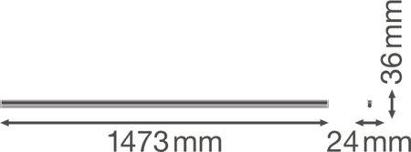 Lineární svítidlo LINEAR COMPACT HIGH OUTPUT 1500 25W 4000K LEDVANCE