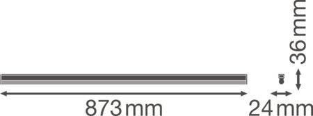 Lineární svítidlo LINEAR COMPACT HIGH OUTPUT 900 15W 4000K LEDVANCE