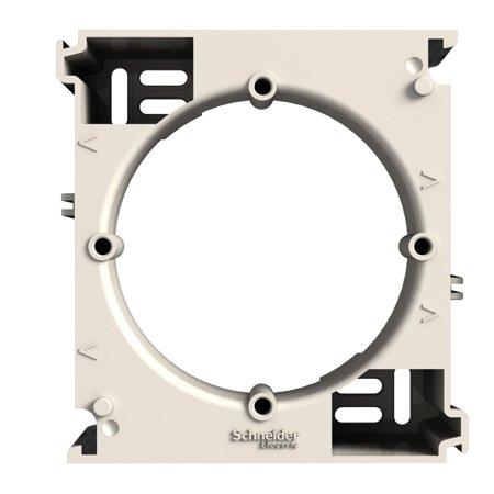Nástěnná základna rozšiřující, krémová Schneider Electric Asfora EPH6100223