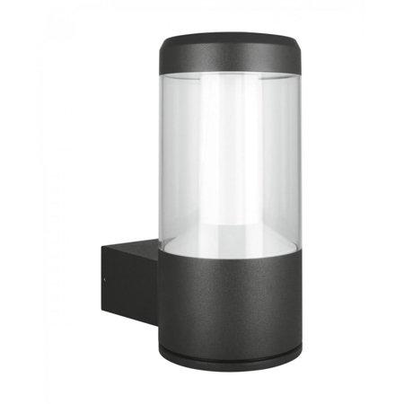 Nástěnné fásadní svítidlo 12W 3000K IP54 Gray OUTDOOR FACADE LANTERN LEDVANCE