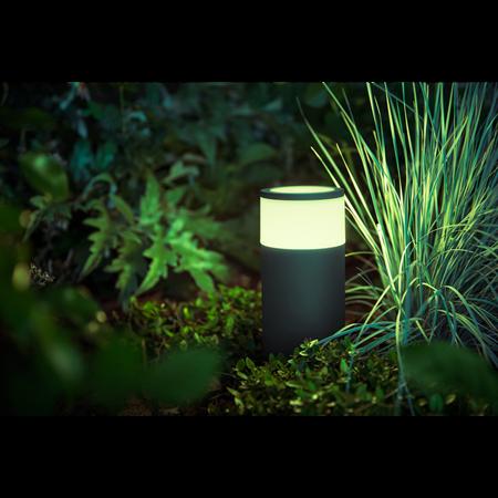 Philips Hue lampa vnější černá Calla White and color ambiance 1742330P7