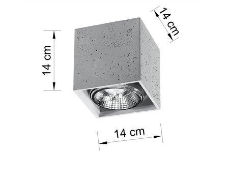 Plafon VALDE GU10 SL.0646 Sollux