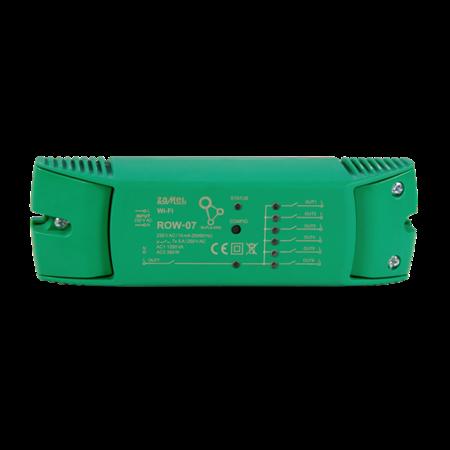 Přijímač Wi-Fi na omítku 7kanálový Supla, ROW-07 Zamel