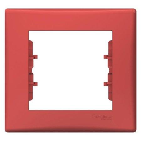 Rámeček 1-násobný červená Sedna SDN5800141 Schneider Electric