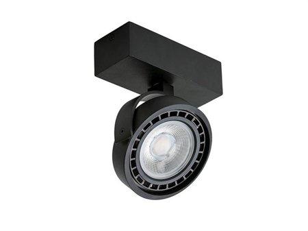 Reflektor Jerry 1 12V černá Azzardo GM4113-12V