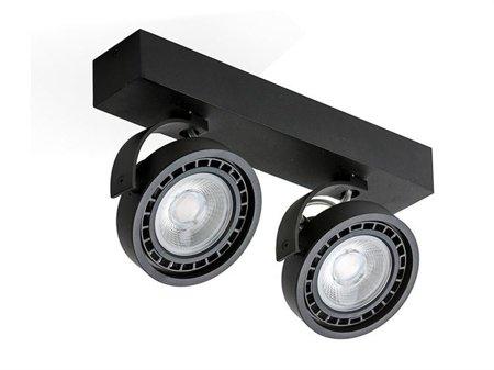 Reflektor Jerry 2 12V černá Azzardo GM4205-12V