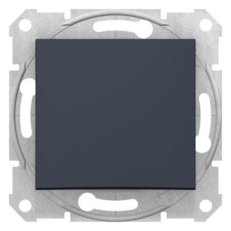 Schodišťové tlačítko, grafitová Sedna SDN0420170 Schneider Electric
