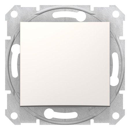Schodišťové tlačítko krémová Sedna SDN0420123 Schneider Electric