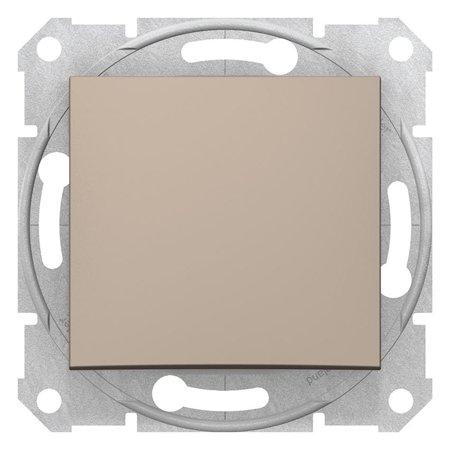 Schodišťový vypínač 16A saténová Sedna SDN0400468 Schneider Electric