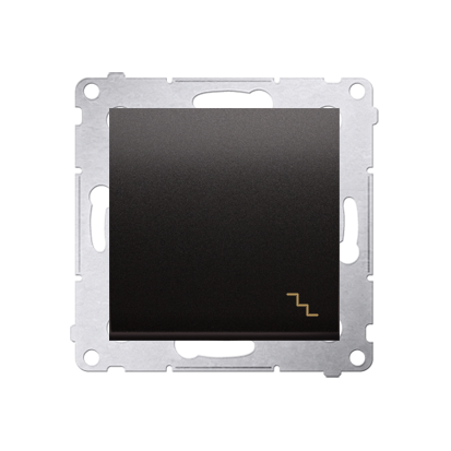 Simon 54 Premium Antracit Vypínač schodišťový (modul) rychlospojka, DW6.01/48
