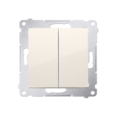 Simon 54 Premium Krémová Přepínač sériový (modul) rychlospojka, DW5.01/41