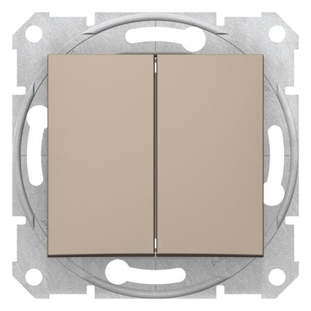Spínač sériový saténová Sedna SDN0300168 Schneider Electric