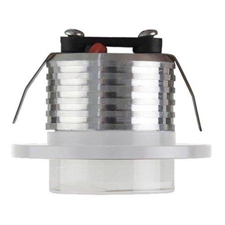 Stropní bodové svítidlo BELLA LED, 3W, 4000K, matný chrom, 3520, Horoz